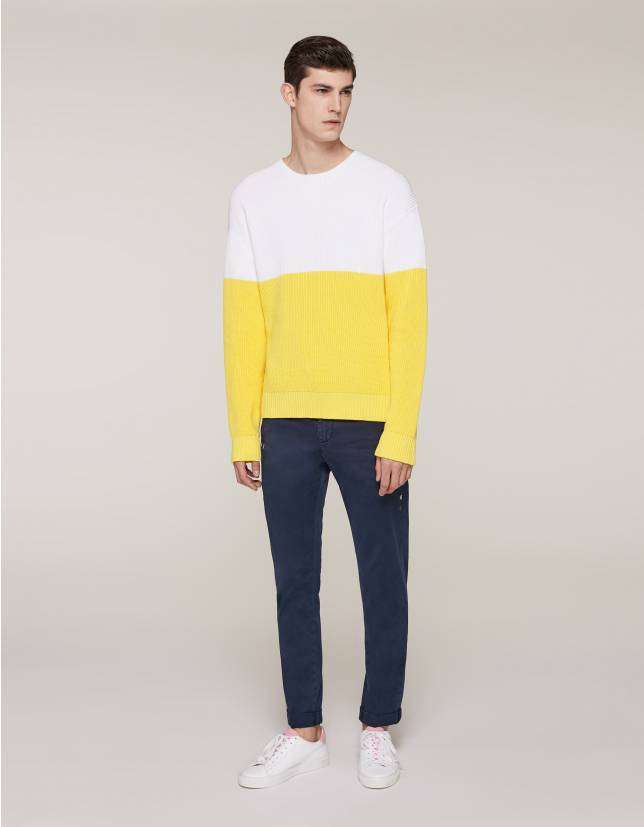 Pullover bicolor Dondup