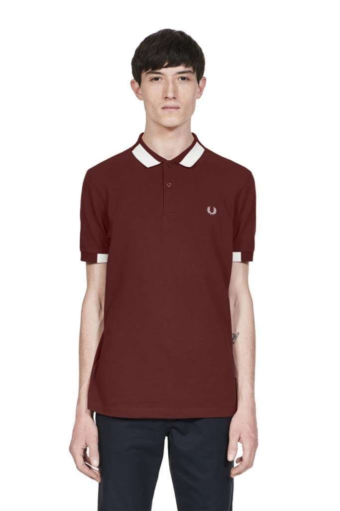Fred Perry polo bordeaux