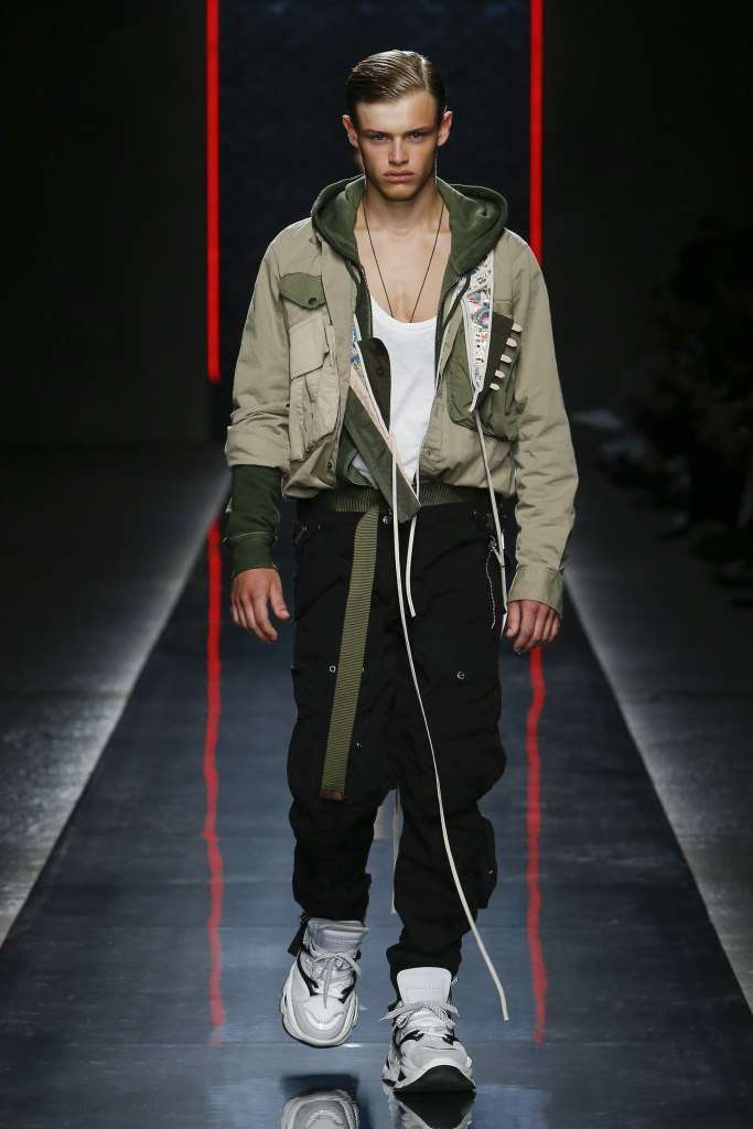 Army look Dsquared2
