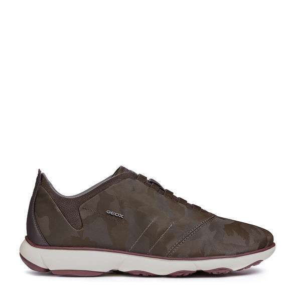 Sneakers camouflage marrone Geox