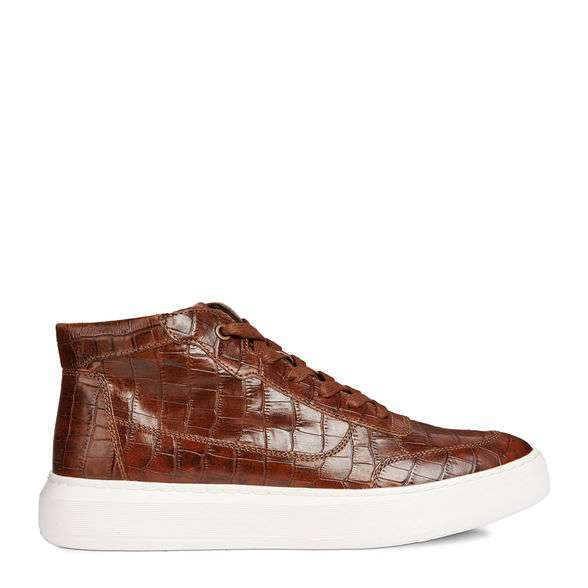 Sneakers pelle cocco Geox