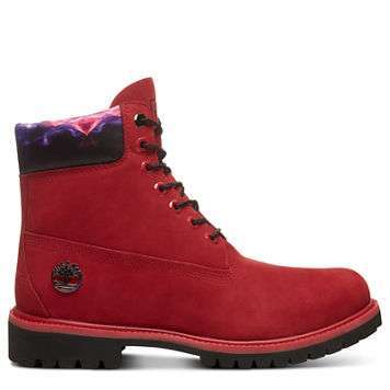 Stivaletto rosso limited edition Timberland