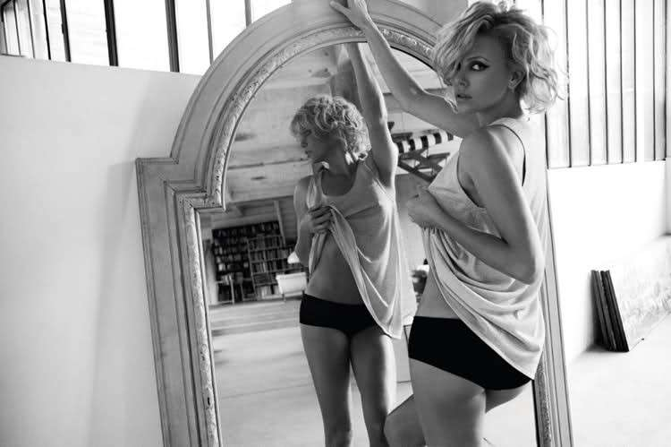 Charlize Theron su Elle France nel 2010